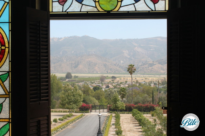 Newhall Mansion Oriental Bedroom View