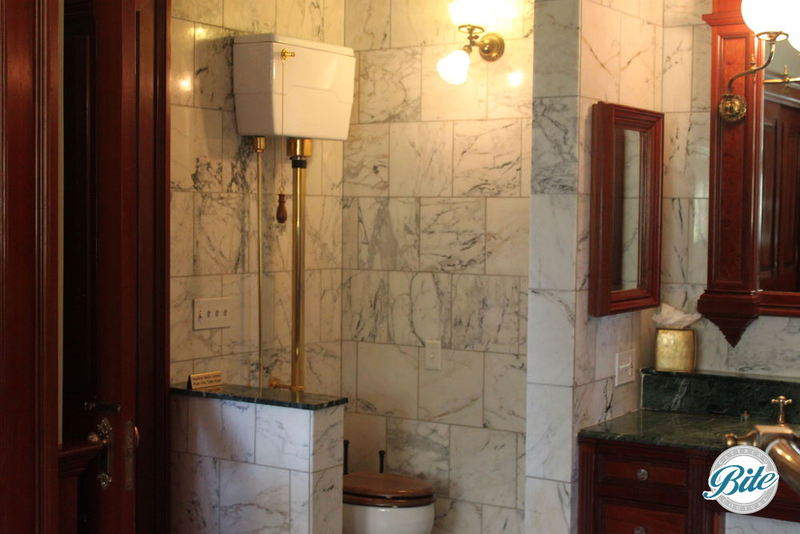 Newhall Mansion Bridal Suite Restroom