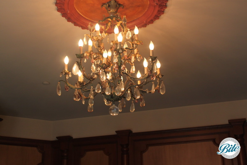 Newhall Mansion Bedroom Chandelier