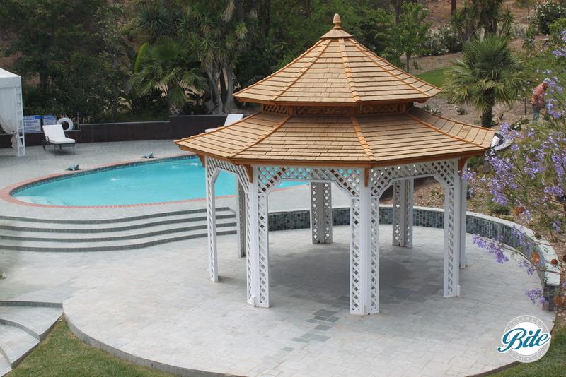 Newhall Mansion Pool Gazebo