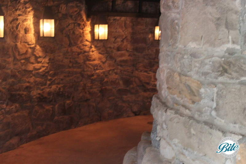 Newhall Mansion Underground Tavern Walkway