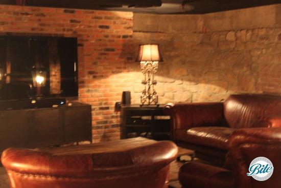 Newhall Mansion Underground Tavern Lounge