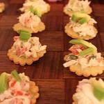 Crab Tostada Bites