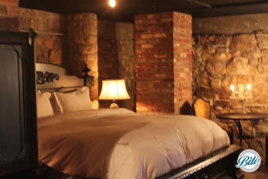 Newhall Mansion Underground Tavern Bedroom