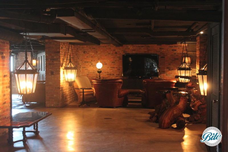 Newhall Mansion Underground Tavern Main Room