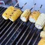 Backyard BBQ Party Grilled Corn on the Cob