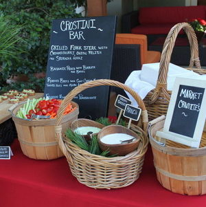 Backyard BBQ Party Market Station