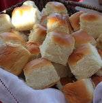 Basket of Bread Rolls
