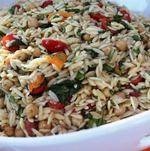Backyard BBQ Party Orzo Salad