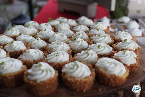 Backyard BBQ Party Mini Key Lime Pies