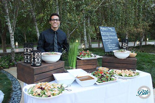 Company BBQ Salad Bar