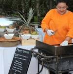 Chef Cooking Gorditas