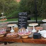 Outdoor Dessert Station