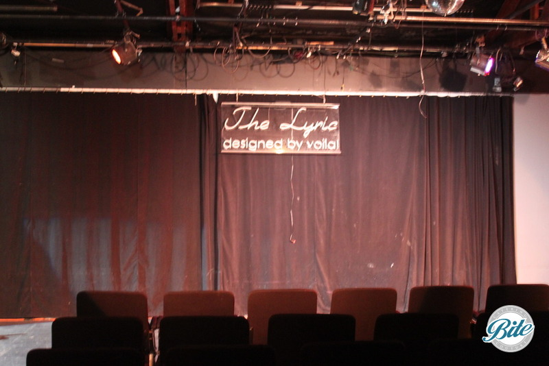 Voila Gallery Lyric Theater Front Stage