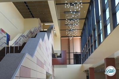 Thousand Oaks Civic Arts Plaza Fred Kavli Lobby Ceiling