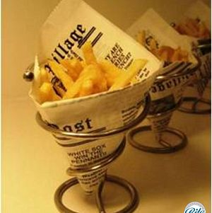 Passed French Fry Cones
