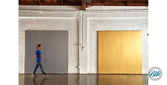 Studio 1342 Gray & Gold Wall