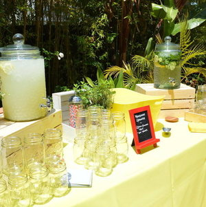 Graduation/Birthday Party Beverage Station
