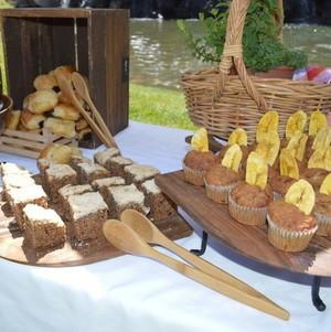 Four Seasons Bridal Shower Brunch Bread & Pastry Bar Closeup