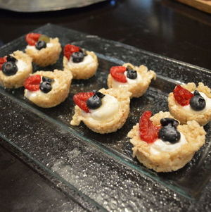 Crispy Cereal Cups with Berries