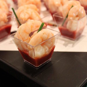 Shrimp Cocktail Closeup