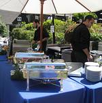 Green Wedding in Bel Air American Station Chefs