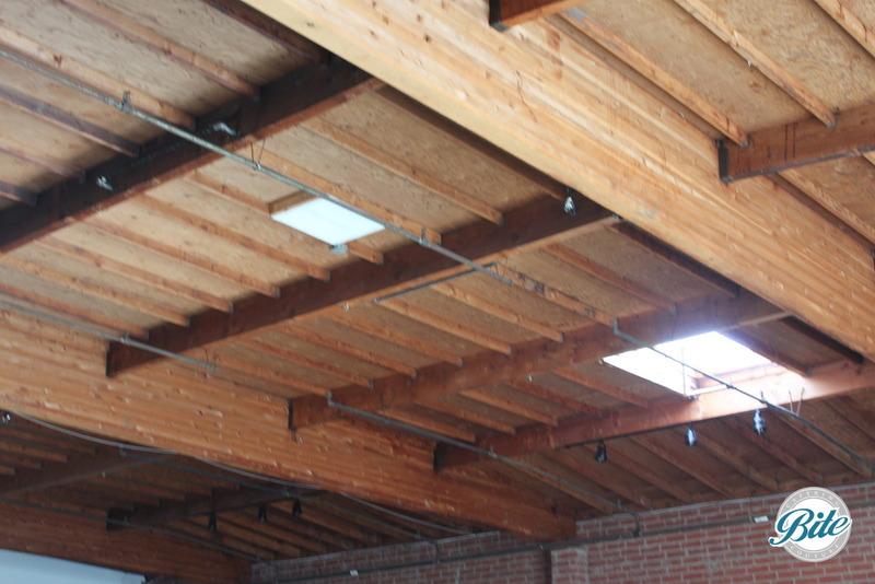 BookBindery Brick Building Wooden Celing