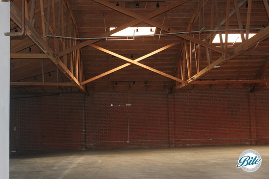 BookBindery Building Wooden Bow-Truss
