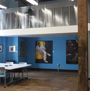 Blankspaces DTLA Event Space Blue Wall