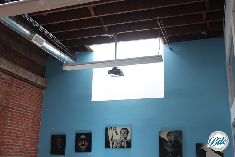 Blankspaces DTLA Classroom Projector