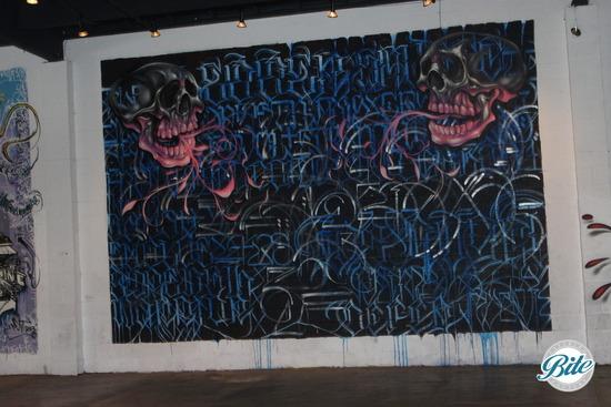 Mad Ave Graffiti Wall 1
