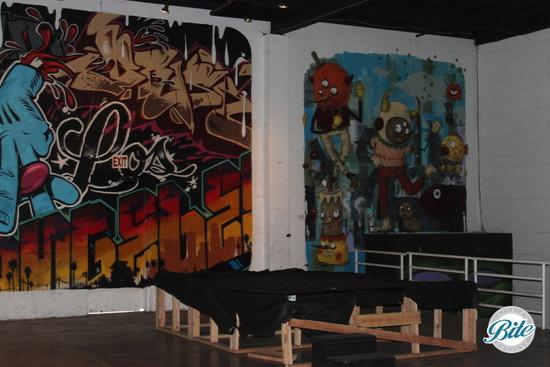 Mad Ave Graffiti Wall 2