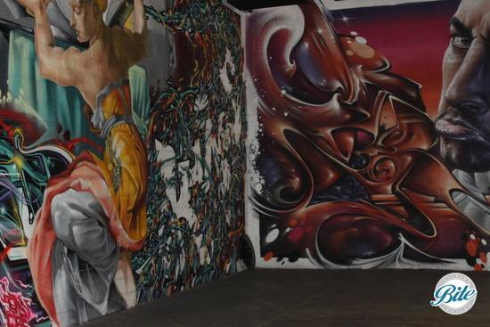Mad Ave Graffiti Wall 3