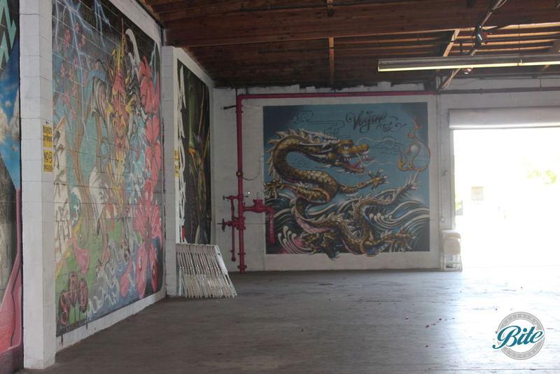 Mad Ave Graffiti Wall Entrance Gate